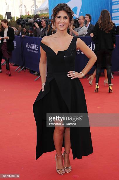 Geraldine Nakache arrives at the Closing Ceremony and 'Sicario'Premiere during the 41st Deauville American Film Festival on September 12 2015 in...