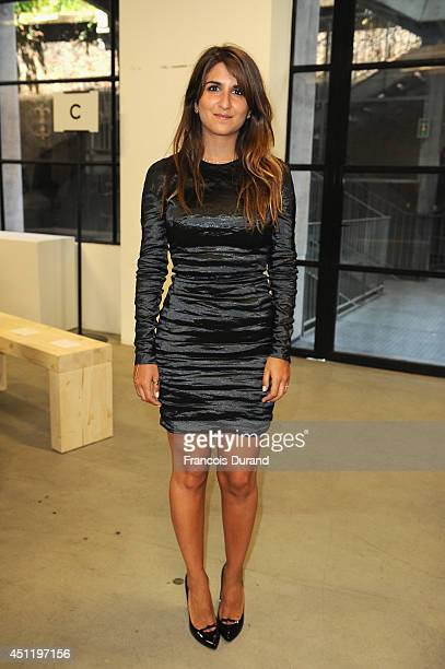 Geraldine Nakache attends the Carven show as part of the Paris Fashion Week Menswear Spring/Summer 2015 on June 25 2014 in Paris France