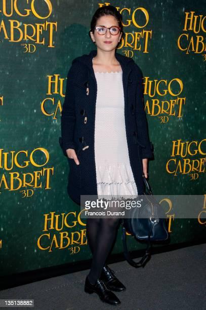 Geraldine Nakache attends the 'Hugo Cabret 3D' premiere at Cinema UGC Normandie on December 6 2011 in Paris France