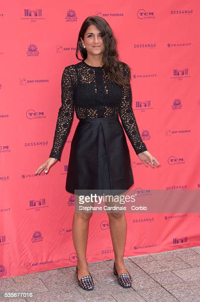 Geraldine Nakache attends the 'Toiles Enchantees' Red Carpet as part of the Champs Elysees Film Festival 2013 at Publicis Champs Elysees in Paris