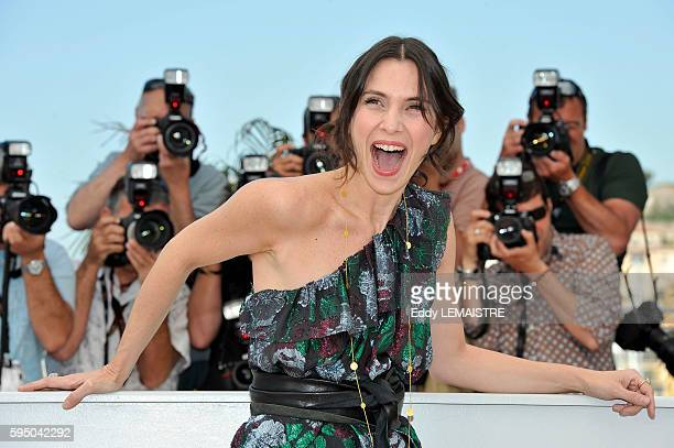 Geraldine Pailhas at the photo call for Rebecca H during the 63rd Cannes International Film Festival