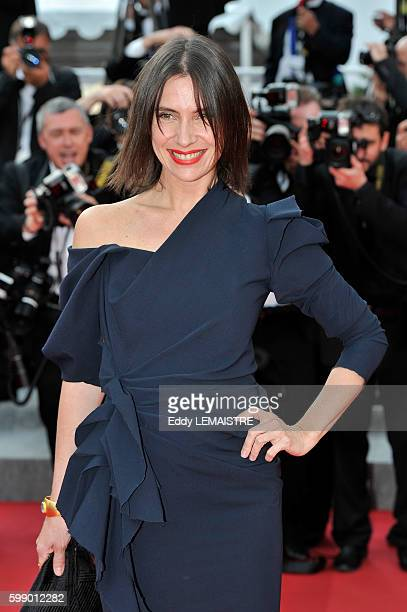 Geraldine Pailhas at the premiere of Poetry during the 63rd Cannes International Film Festival