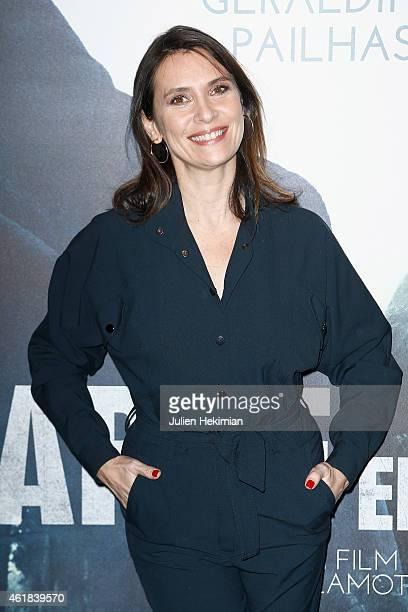 Geraldine Pailhas attends 'Disparue En Hiver' Paris Premiere at UGC Cine Cite Bercy on January 20 2015 in Paris France