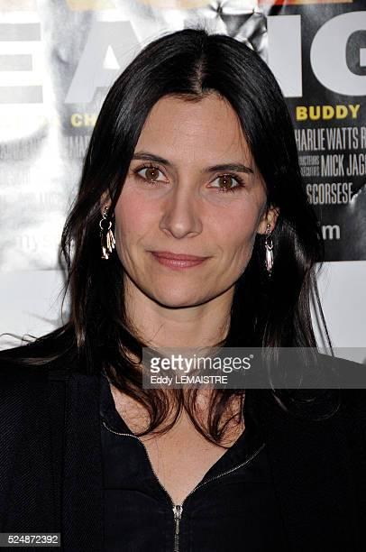 Geraldine Pailhas attends the premiere of 'Shine a Light' in Paris