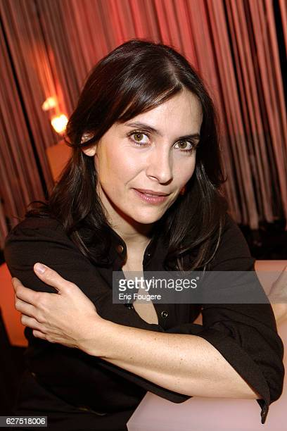 Geraldine Pailhas on the set of TV show 'Ce Soir ou Jamais'