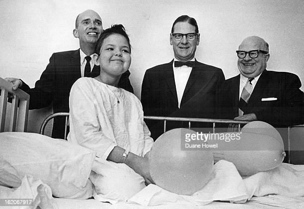 FEB 4 1970 FEB 5 1970 Geraldine Reed of Grand Junction Colo is one of 70 leukemia patients financially aided by Colorado unit Chapter officials with...