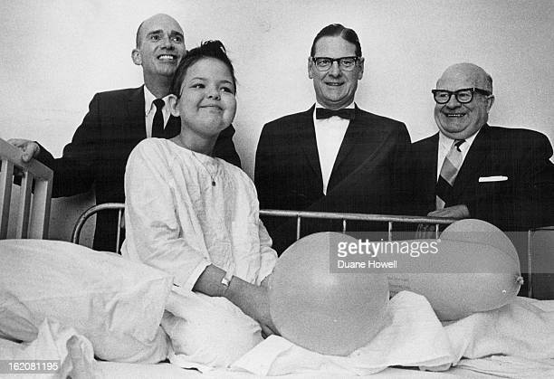 FEB 4 1970 FEB 5 1970 Geraldine Reed of Grand Junction Colo is one of 70 Leukemia patients financially aided Colorado unit Chapter officials with her...