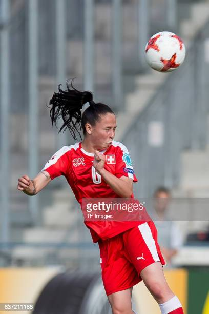 Geraldine Reuteler of Switzerland controls the ball during the Group C match between Austria and Switzerland during the UEFA Women's Euro 2017 at...