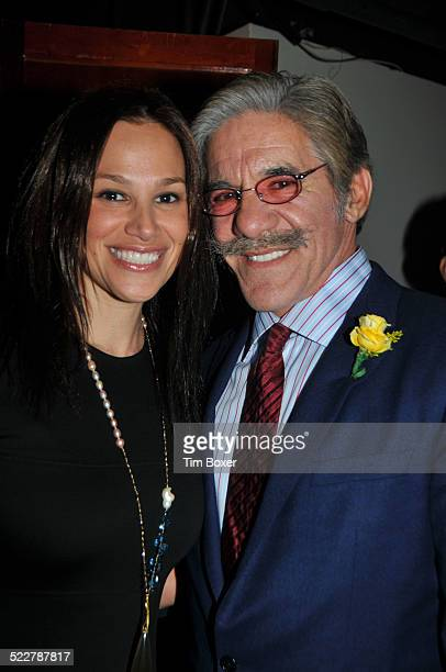 Geraldo Rivera and wife Erica at a gala of the American Society of the University of Haifa held at the American Museum of Natural History in New York...
