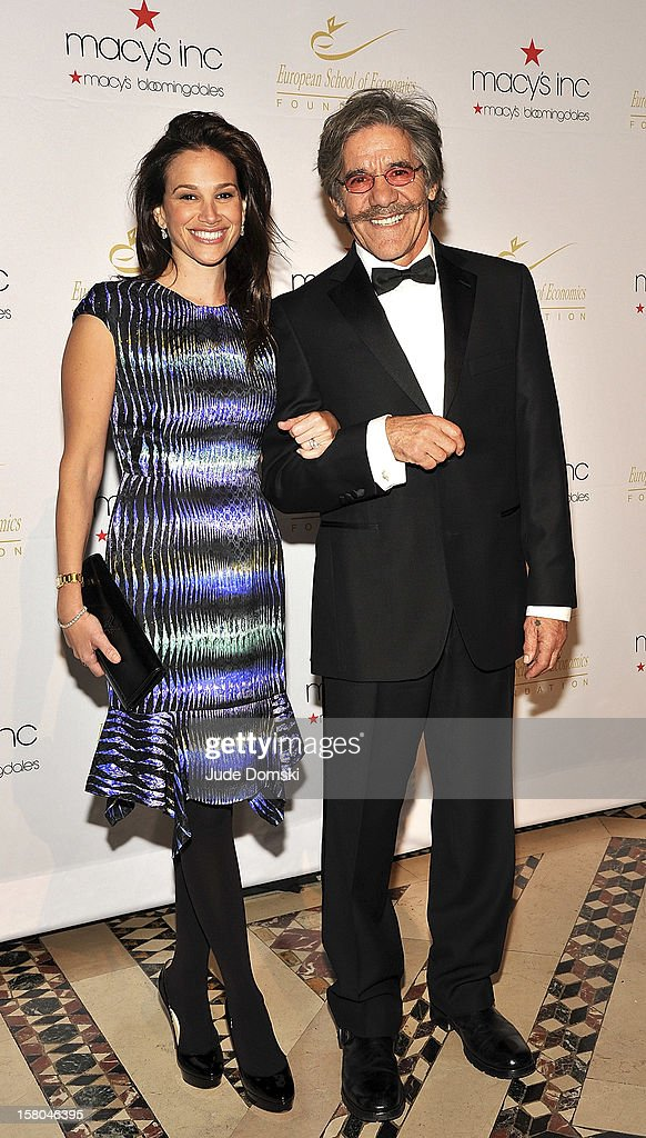 Geraldo Rivera and wife Erica attend the 2012 European School Of Economics Foundation Vision And Reality Awardsat Cipriani 42nd Street on December 5, 2012 in New York City.