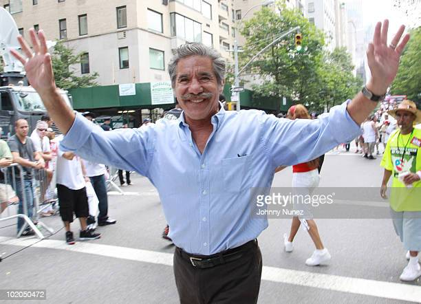 Geraldo Rivera attends the 53rd annual Puerto Rican Day Parade on June 13 2010 in New York City