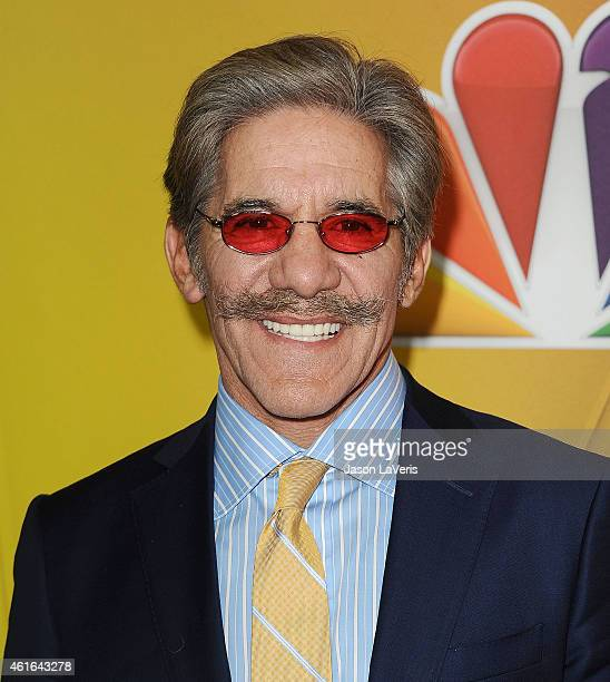 Geraldo Rivera attends the NBCUniversal 2015 press tour at The Langham Huntington Hotel and Spa on January 16 2015 in Pasadena California