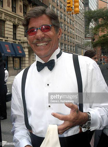 Geraldo Rivera during Geraldo Rivera Weds Erica Levy in New York City on August 10 2003 at Central Synagogue in New York City New York United States