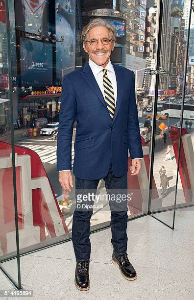 Geraldo Rivera visits 'Extra' at their New York studios at HM in Times Square on March 9 2016 in New York City