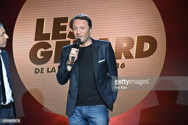 Gerard 2016 for the The most egocentric TV presenter Arthur aka Jacques Essebag attends 'Les Gerard De La Television 2016' Awards Ceremony At Theatre...