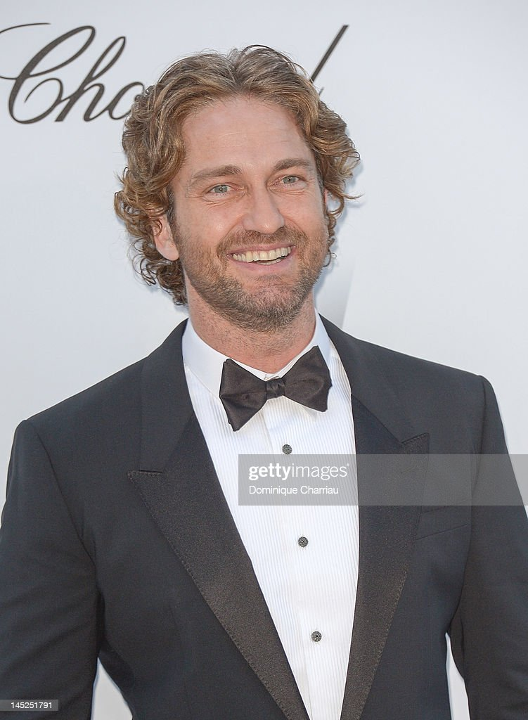 gerard Butler arrives at the 2012 amfAR's Cinema Against AIDS during the 65th Annual Cannes Film Festival at Hotel Du Cap on May 24, 2012 in Cap D'Antibes, France.