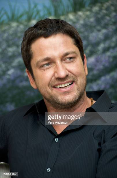 Gerard Butler at 'The Ugly Truth' press conference at Il Cielo on July 18 2009 in Beverly Hills California