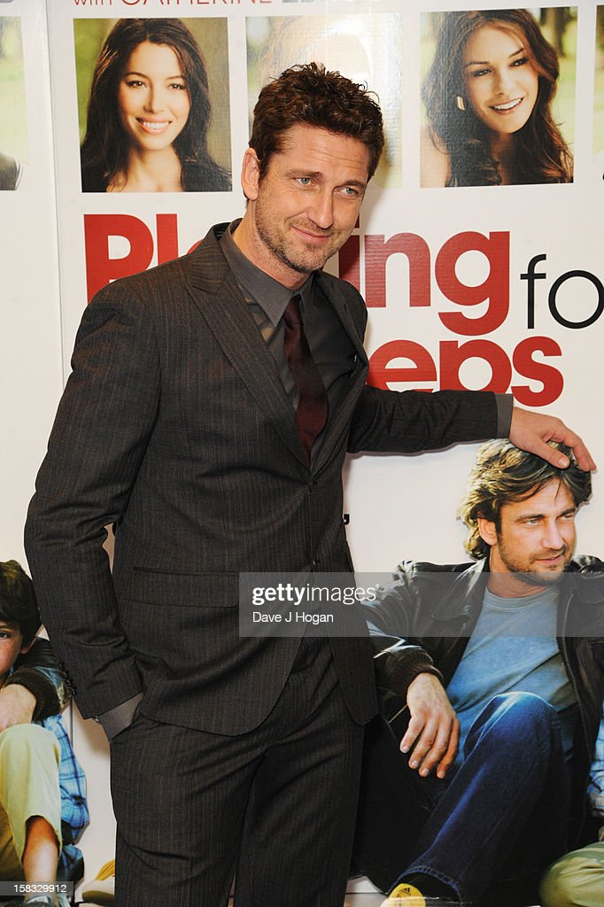 <a gi-track='captionPersonalityLinkClicked' href=/galleries/search?phrase=Gerard+Butler&family=editorial&specificpeople=202258 ng-click='$event.stopPropagation()'>Gerard Butler</a> attends a gala screening of 'Playing For Keeps' at The Apollo on December 13, 2012 in London, England.
