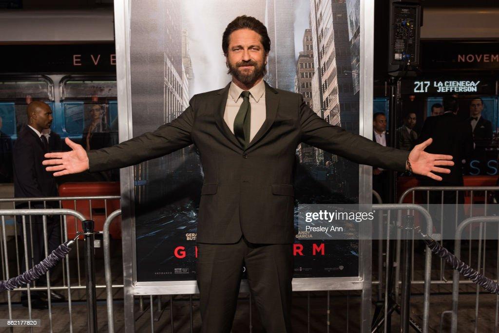 "Premiere Of Warner Bros. Pictures' ""Geostorm"" - Arrivals"