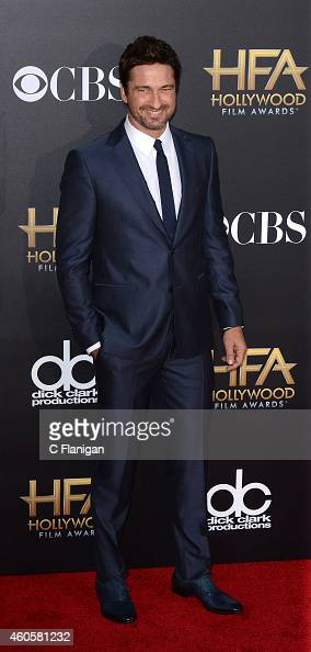 Gerard Butler attends the 18th Annual Hollywood Film Awards at The Palladium on November 14 2014 in Hollywood California