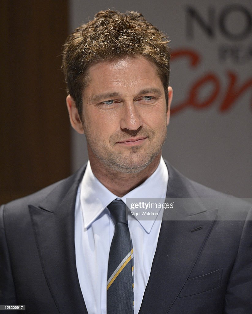 Gerard Butler attends the 2012 Nobel Peace Prize Concert press conference at Radisson Blu Plaza Hotel on December 11, 2012 in Oslo, Norway.