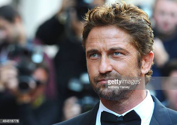 Gerard Butler attends the GQ Men of the Year awards at The Royal Opera House on September 2 2014 in London England