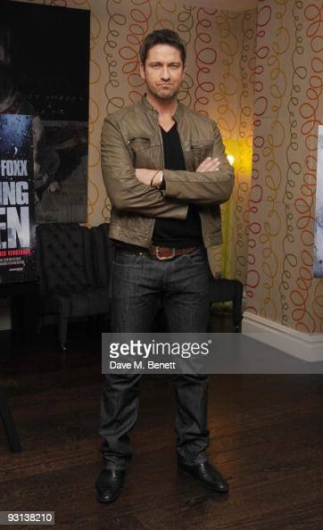 Gerard Butler attends the photocall for 'Law Abiding Citizen' at the Soho Hotel on November 17 2009 in London England