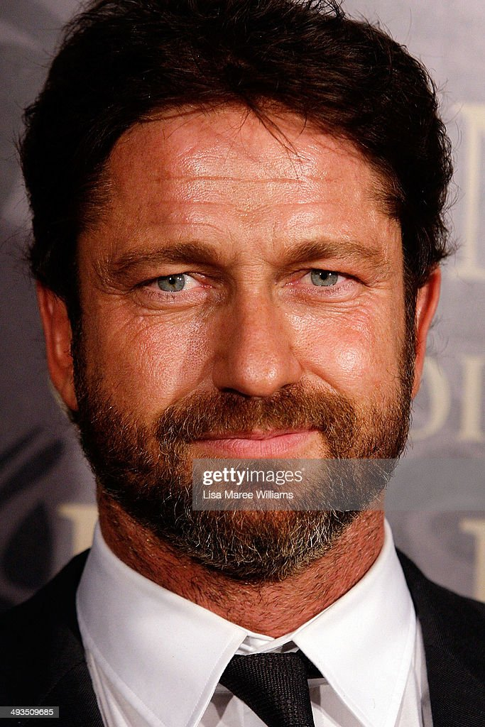 Gerard Butler attends the YMCA Mother of All Balls at Town Hall on May 24, 2014 in Sydney, Australia.