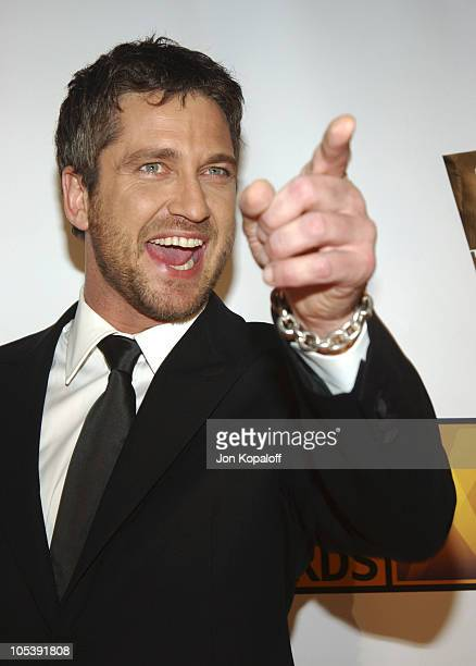 Gerard Butler during 10th Annual Critics' Choice Awards Arrivals at Wiltern LG Theatre in Los Angeles California United States