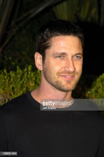 Gerard Butler during 2004 Miramax Awards PreOscar Party at St Regis Hotel in Century City California United States