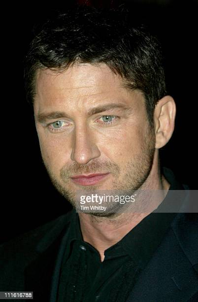 Gerard Butler during 'The Phantom of the Opera' London Premiere Arrivals at Odeon Leicester Square in London England Great Britain
