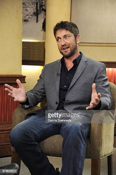 AMERICA Gerard Butler talks about his new movie 'The Bounty Hunter' on GOOD MORNING AMERICA March 17 on the ABC Television Network GM10 GERARD