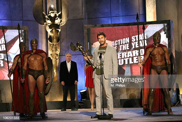 Gerard Butler winner Action Movie Star of the Year Award