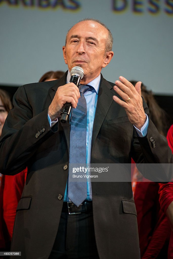 <a gi-track='captionPersonalityLinkClicked' href=/galleries/search?phrase=Gerard+Collomb&family=editorial&specificpeople=672969 ng-click='$event.stopPropagation()'>Gerard Collomb</a> attends the closing ceremony - 7th Lumiere Film Festival on October 18, 2015 in Lyon, France.