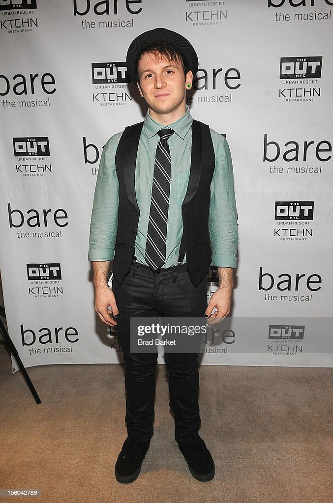Gerard Cononico attends 'BARE The Musical' Opening Night After Party at Out Hotel on December 9, 2012 in New York City.