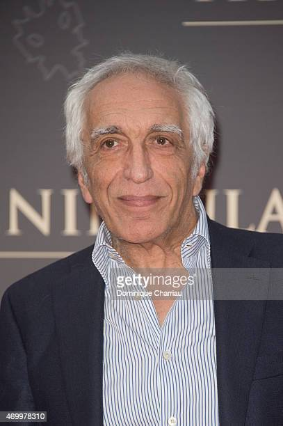 Gerard Darmon attends the The Peninsula Paris Photocall Opening Ceremony on April 16 2015 in Paris France