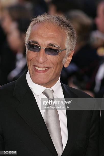 Gerard Darmon during 2004 Cannes Film Festival 'The Ladykillers' Premiere at Palais Du Festival in Cannes France