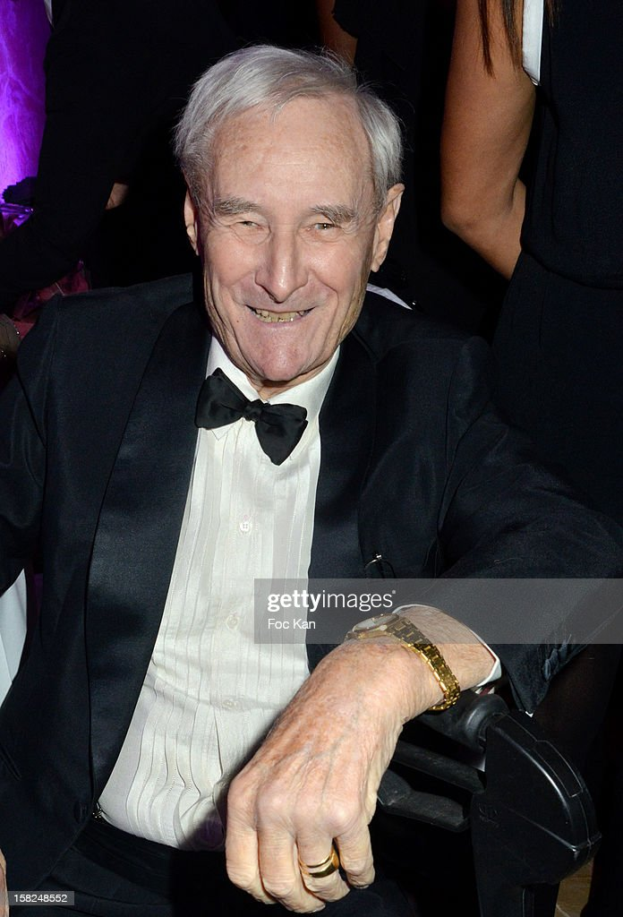 Gerard De Villiers attends the The Bests Awards 2012 Ceremony at the Salons Hoche on December 11, 2012 in Paris, France.