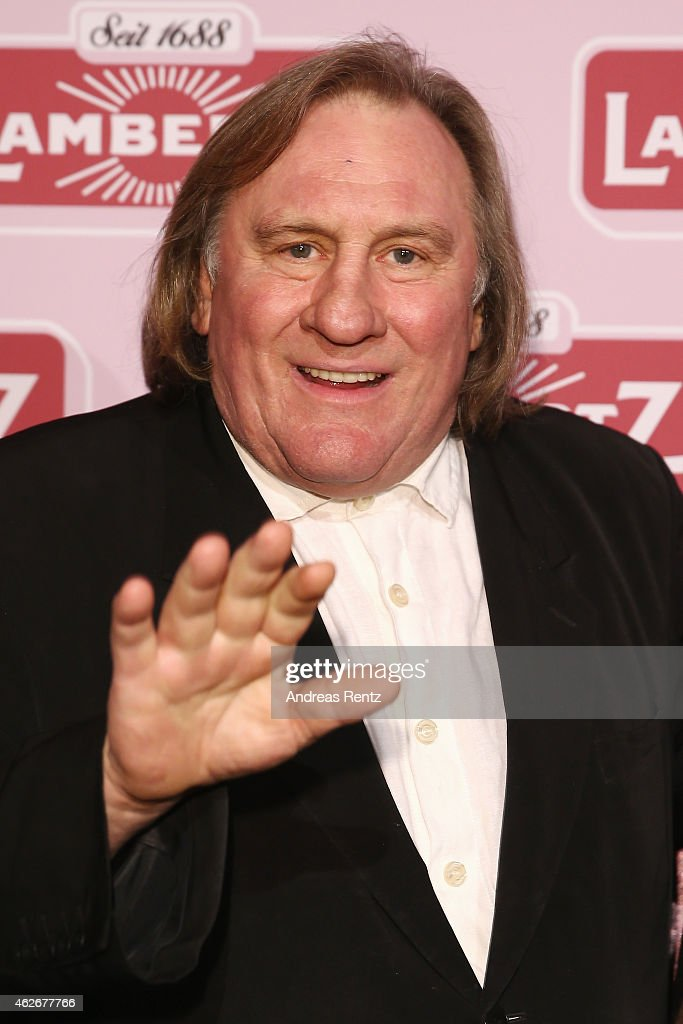 <a gi-track='captionPersonalityLinkClicked' href=/galleries/search?phrase=Gerard+Depardieu&family=editorial&specificpeople=207073 ng-click='$event.stopPropagation()'>Gerard Depardieu</a> arrives for the Lambertz Monday Night 2015 at Alter Wartesaal on February 2, 2015 in Cologne, Germany.
