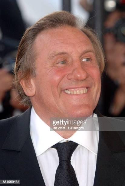 AP OUT Gerard Depardieu arrives for the premiere of Quand J'Etais Chanteur at the 59th Cannes Film Festival in Cannes France