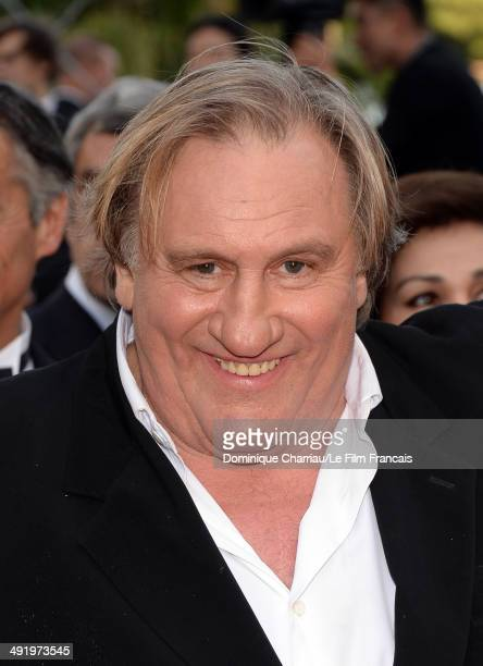 Gerard Depardieu attends 'The Homesman' Premiere at the 67th Annual Cannes Film Festival on May 18 2014 in Cannes France