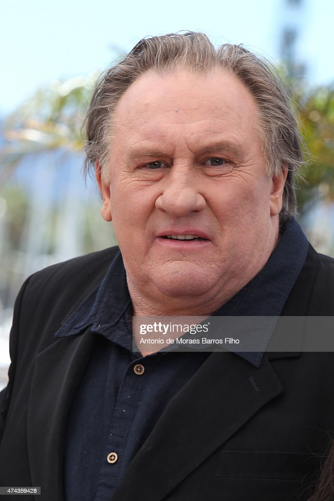 <a gi-track='captionPersonalityLinkClicked' href=/galleries/search?phrase=Gerard+Depardieu&family=editorial&specificpeople=207073 ng-click='$event.stopPropagation()'>Gerard Depardieu</a> attends the 'Valley Of Love' photocall during the 68th annual Cannes Film Festival on May 22, 2015 in Cannes, France.