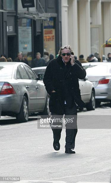 Gerard Depardieu during Gerard Depardieu Sighting in SoHo February 18 2007 at SoHo in New York City New York United States
