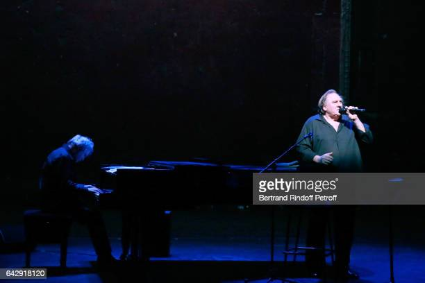 Gerard Depardieu sings Barbara accompanied on the piano of Barbara by Gerard Daguerre who was Barbara's Pianist for more than 15 years Held at...