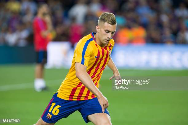 Gerard Deulofeu during the match between FC Barcelona Real Madrid for the first leg of the Spanish Supercup held at Camp Nou Stadium on 13th August...