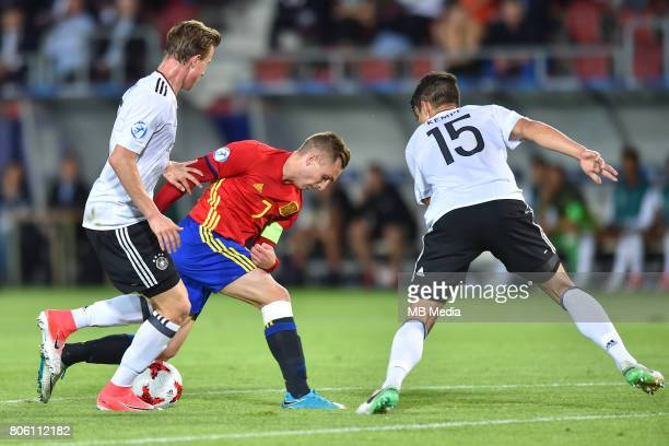 Gerard Deulofeu during the UEFA European Under21 final match between Germany and Spain on June 30 2017 in Krakow Poland