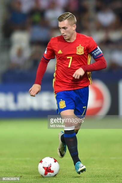 Gerard Deulofeu during the UEFA European Under21 match between Spain and Italy on June 27 2017 in Krakow Poland