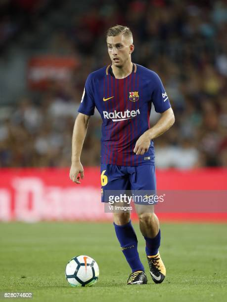 Gerard Deulofeu of FC Barcelona during the Trofeu Joan Gamper match between FC Barcelona and Chapecoense on August 7 2017 at the Camp Nou stadium in...