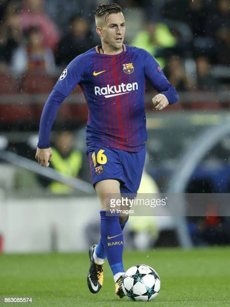 Gerard Deulofeu of FC Barcelona during the UEFA Champions League group D match between FC Barcelona and Olympiacos on October 18 2017 at the Camp Nou...