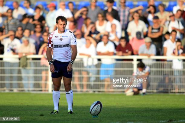 Gerard Fraser Begles Bordeaux / Stade Francais Match de preparation Begles